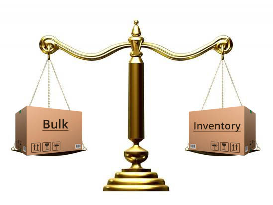 Bulk Buy vs. Inventory within a Company Store