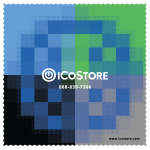 iCoStore Microfiber Cloth