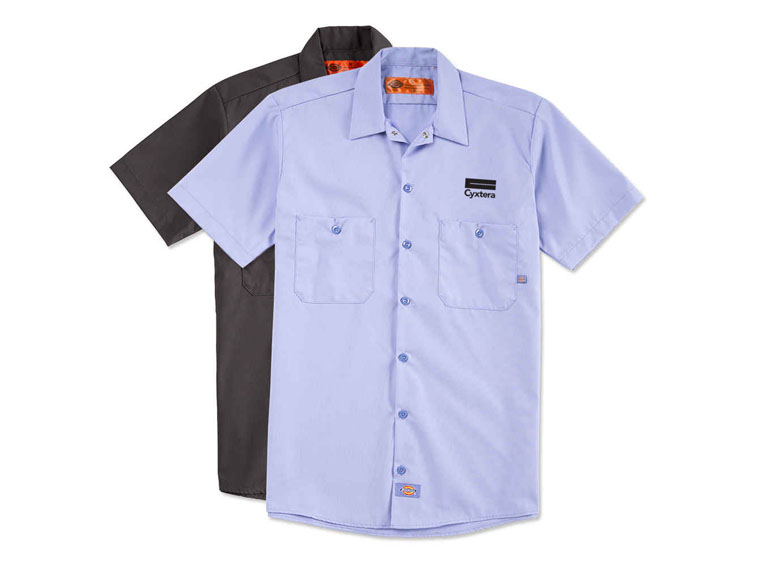 dickies work shirts icostore uniform program embroidery
